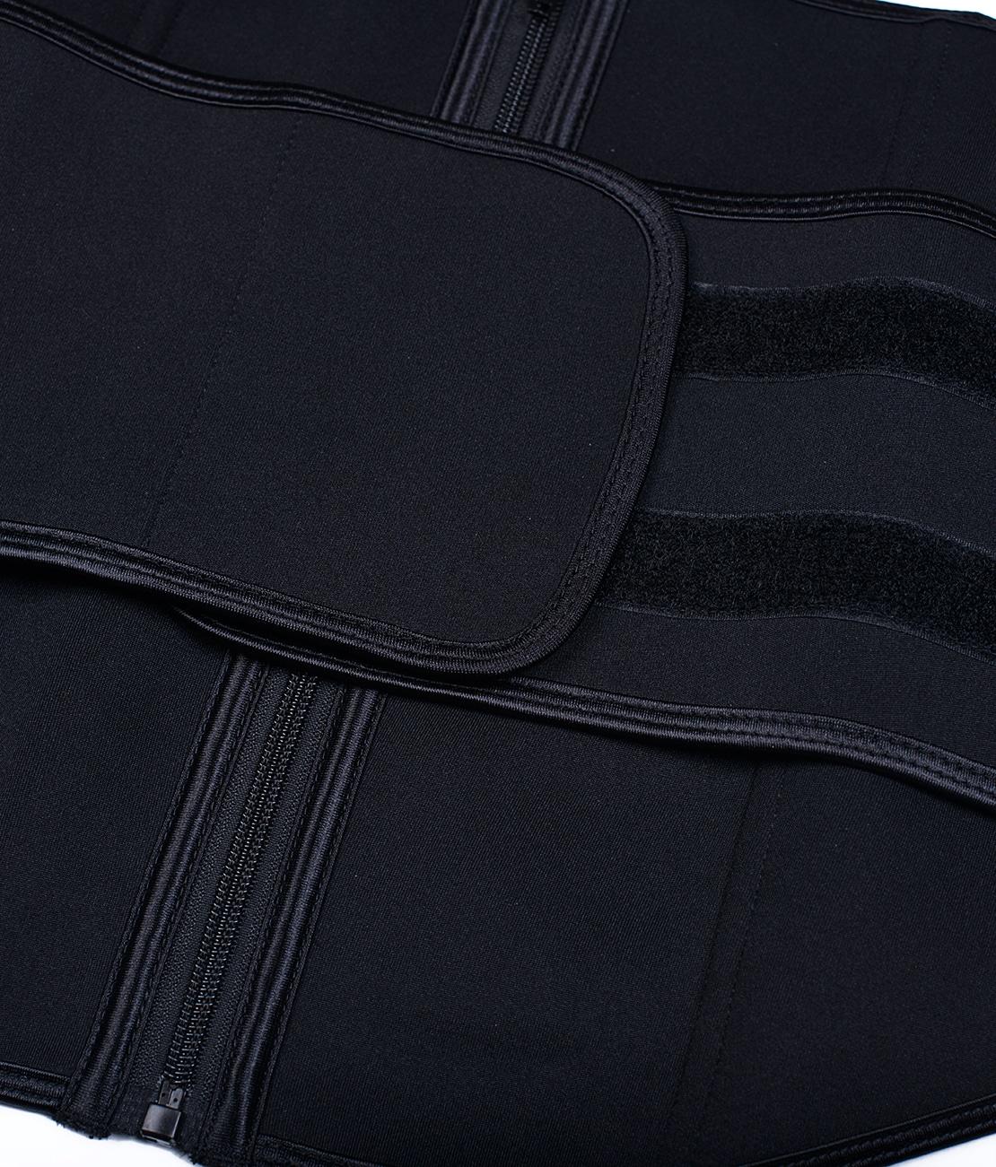 Ceinture de Sudation Multisport Noire Packshot Detail 1