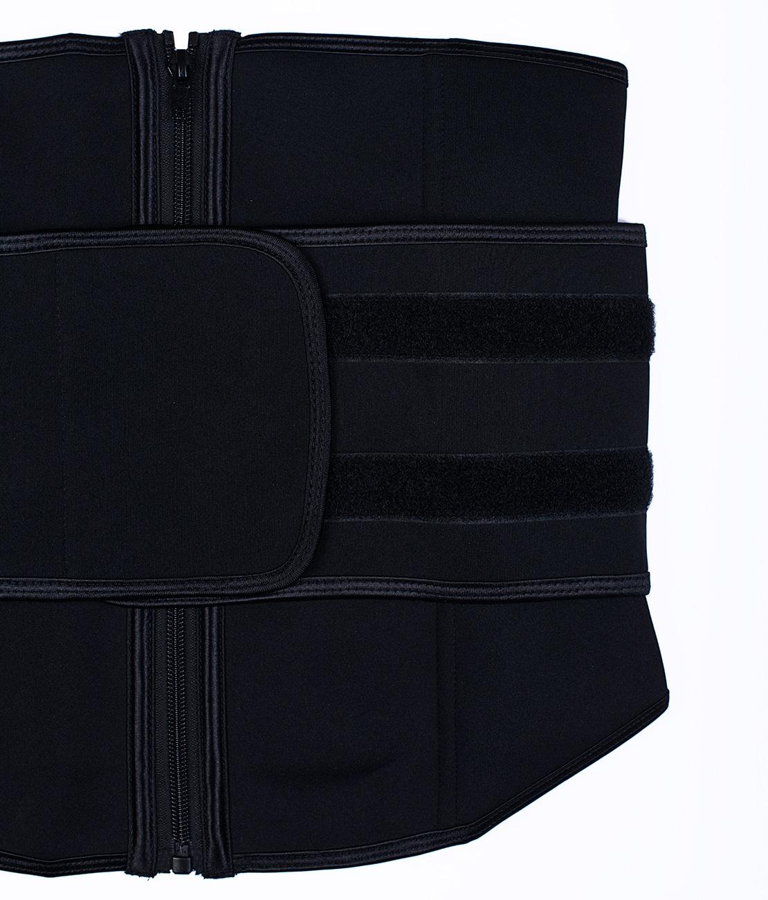 Ceinture de Sudation Multisport Noire Packshot Detail 2