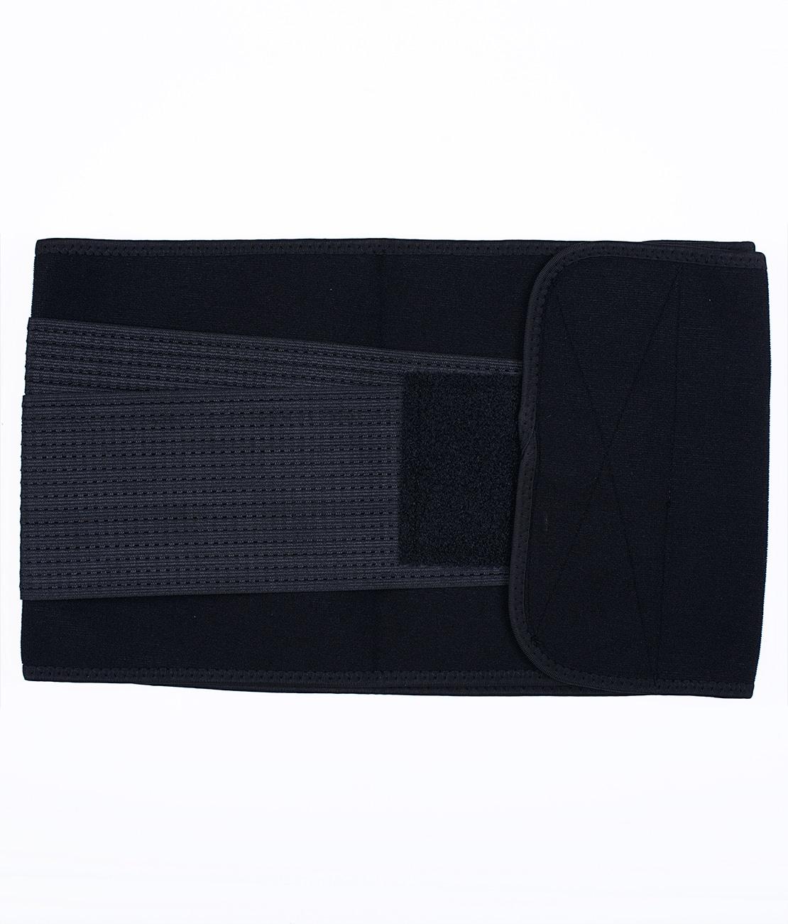 Ceinture de Sudation Noire Packshot Back