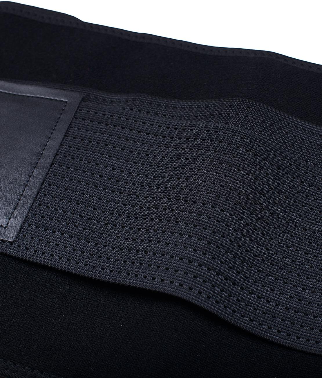 Ceinture de Sudation Noire Packshot Detail 2
