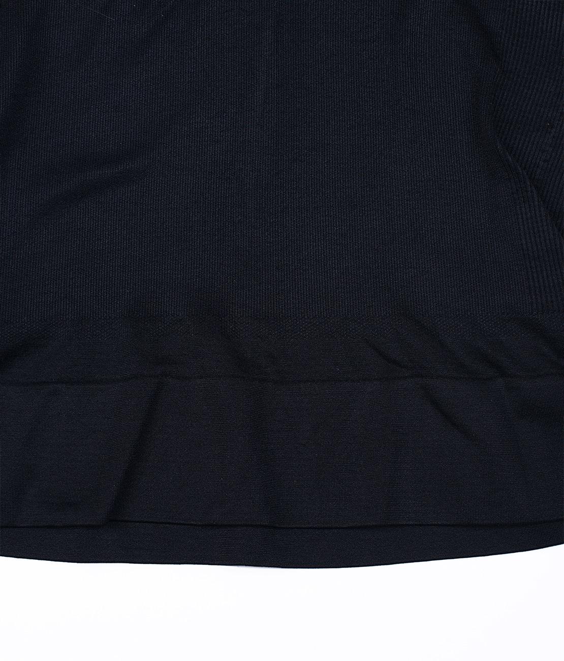 T Shirt Amincissant Noir Packshot Detail 3