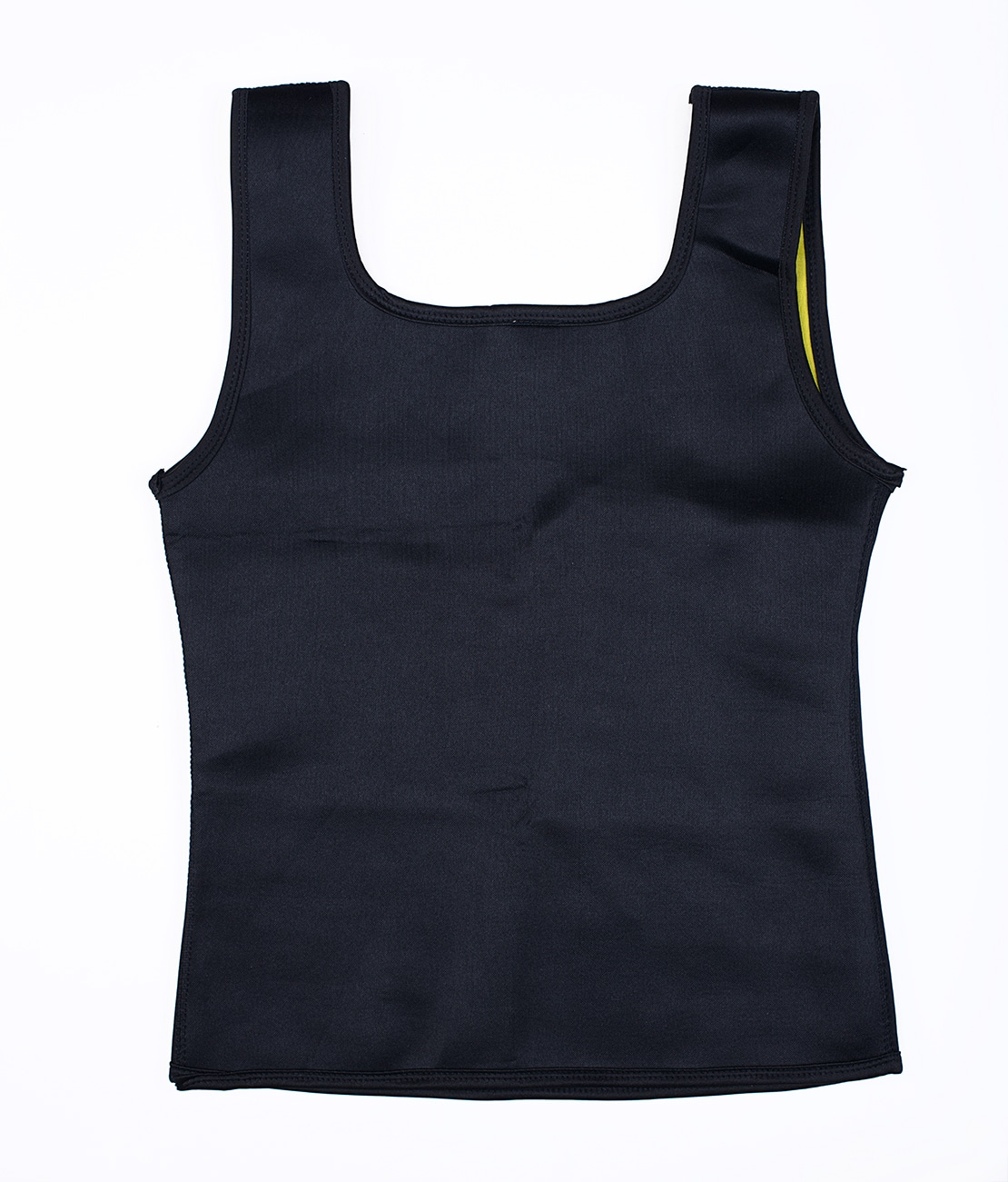 T-Shirt de sudation Noir Packshot Back