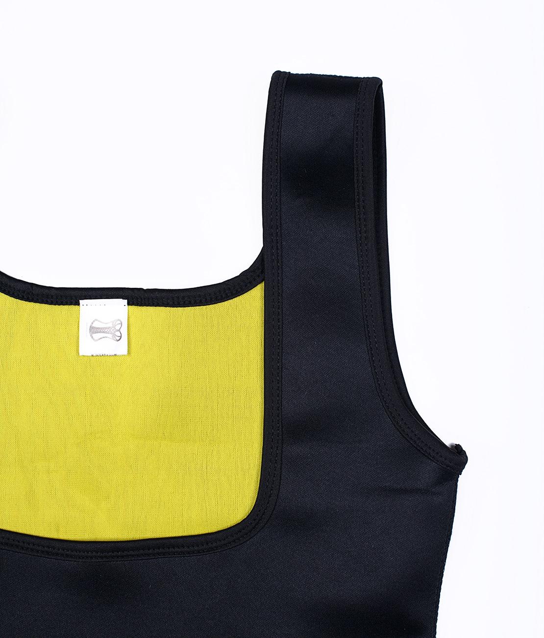 T-Shirt de sudation Noir Packshot Detail 3