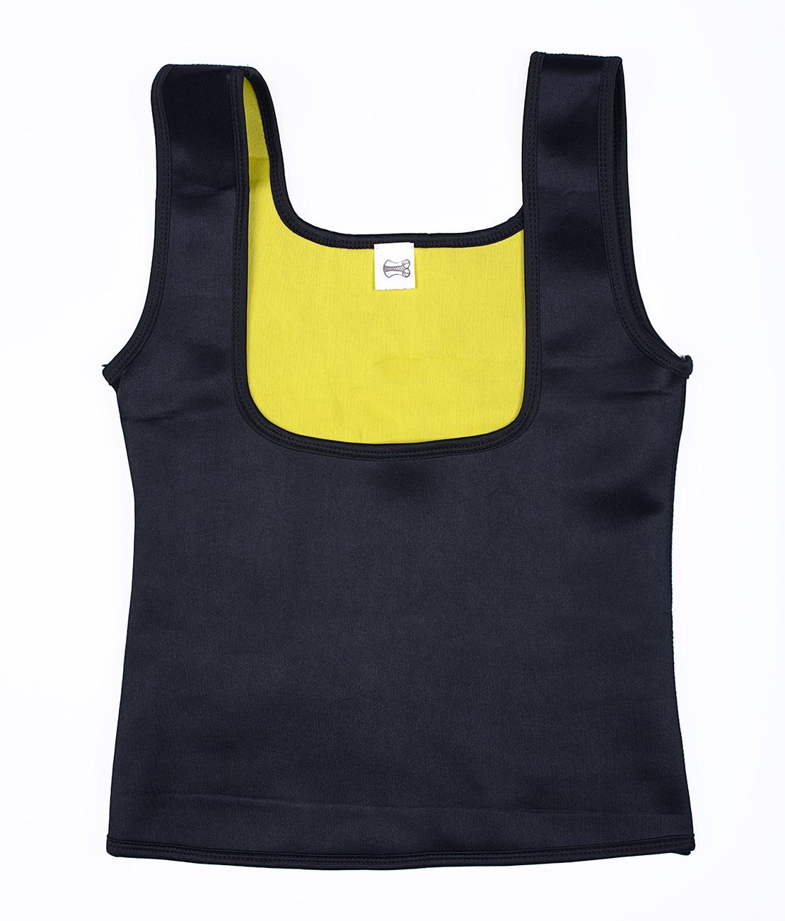 T-Shirt de sudation Noir Packshot Front