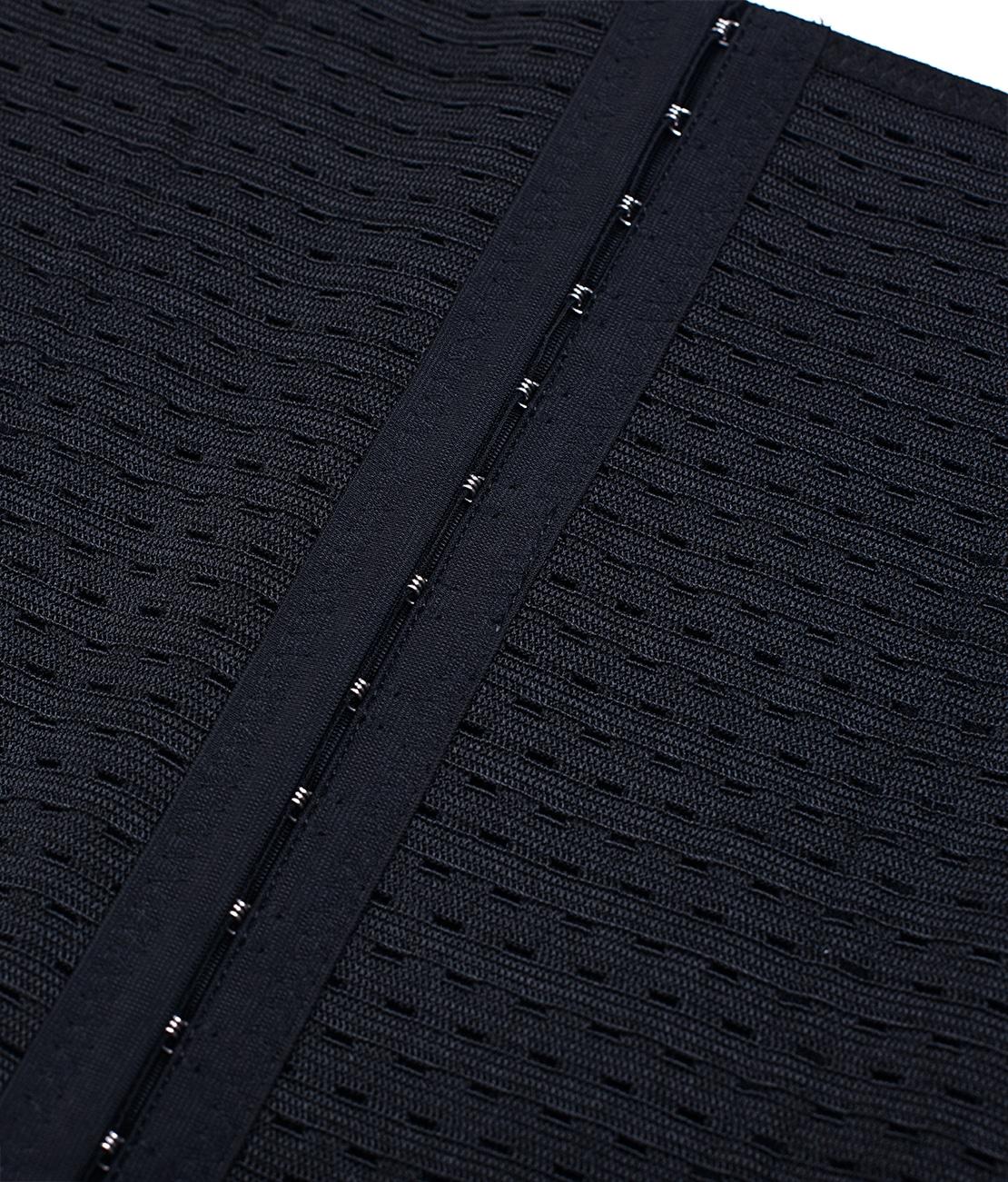 Gaine Taille Fine Noire Packshot Detail 1