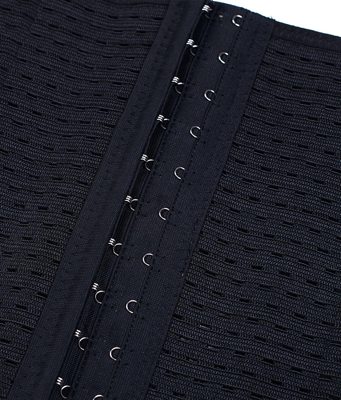 Gaine Taille Fine Noire Packshot Detail 2