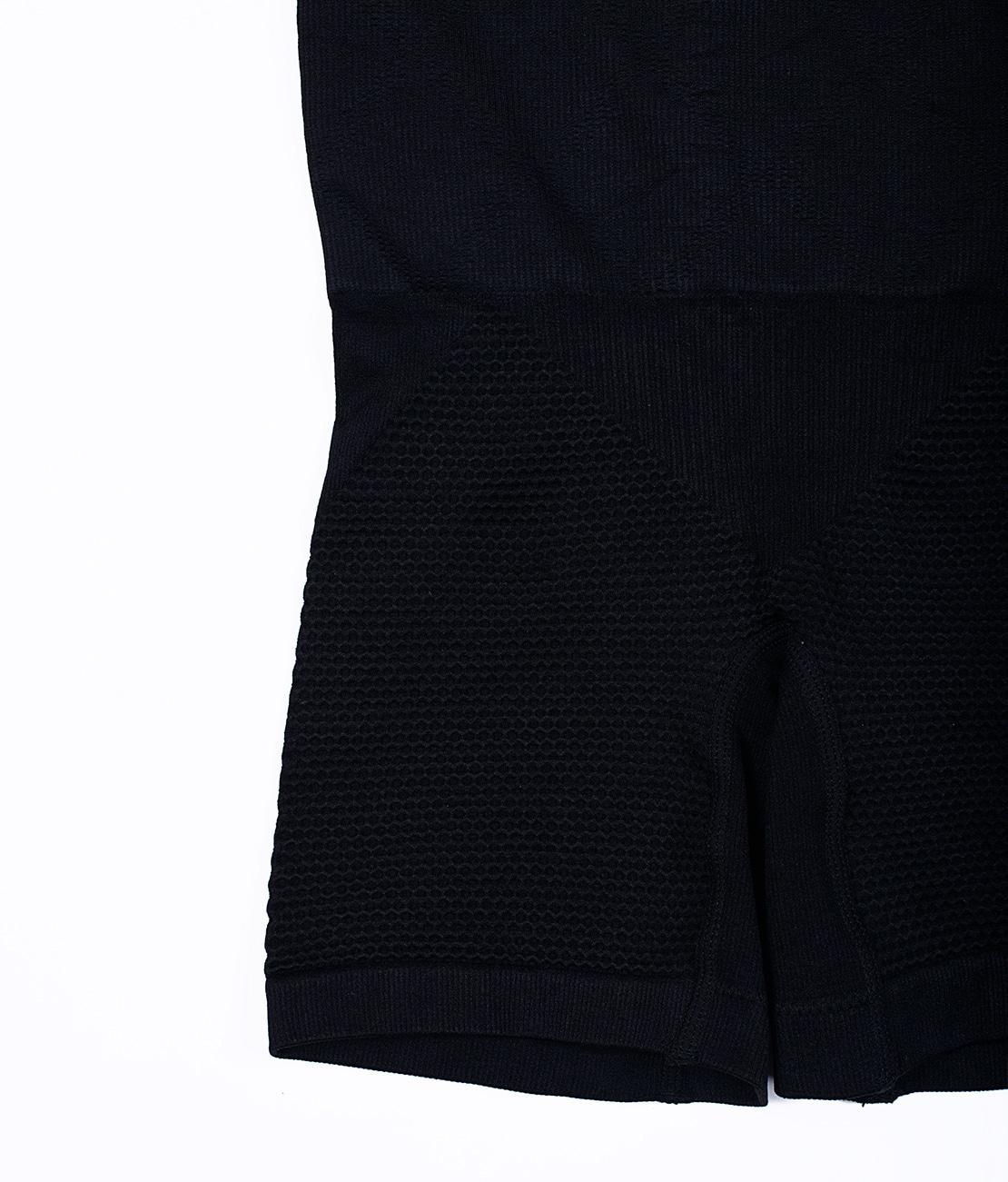 Panty Nid d'abeille Noir Packshot Detail 1