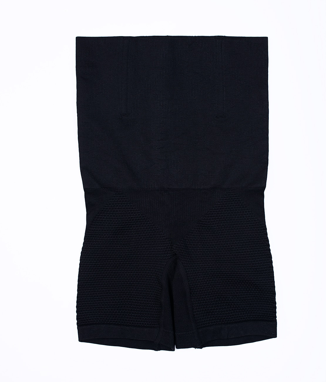 Panty Nid d'abeille Noir Packshot Front