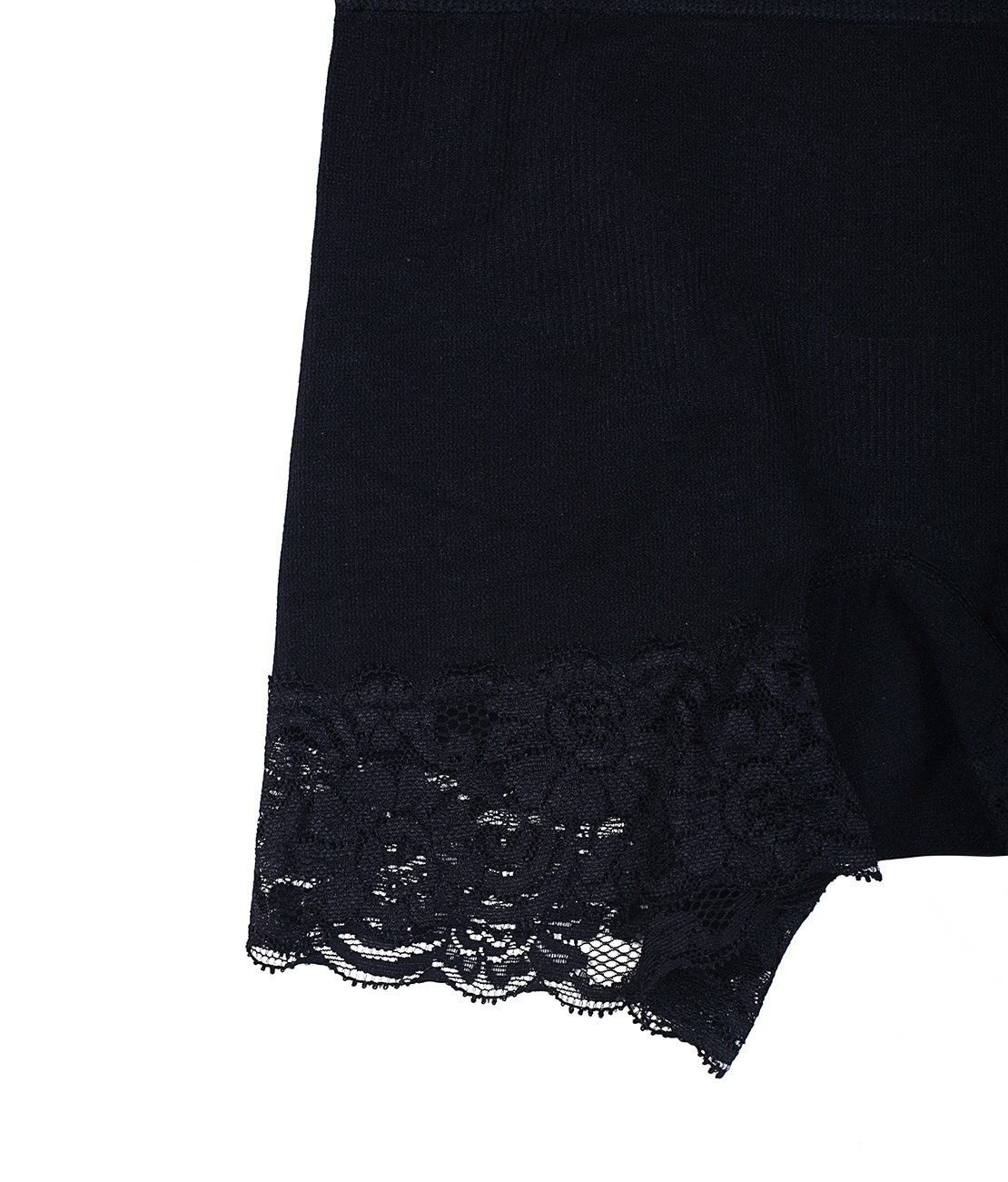 Panty Taille Haute Noir Packshot Detail 1