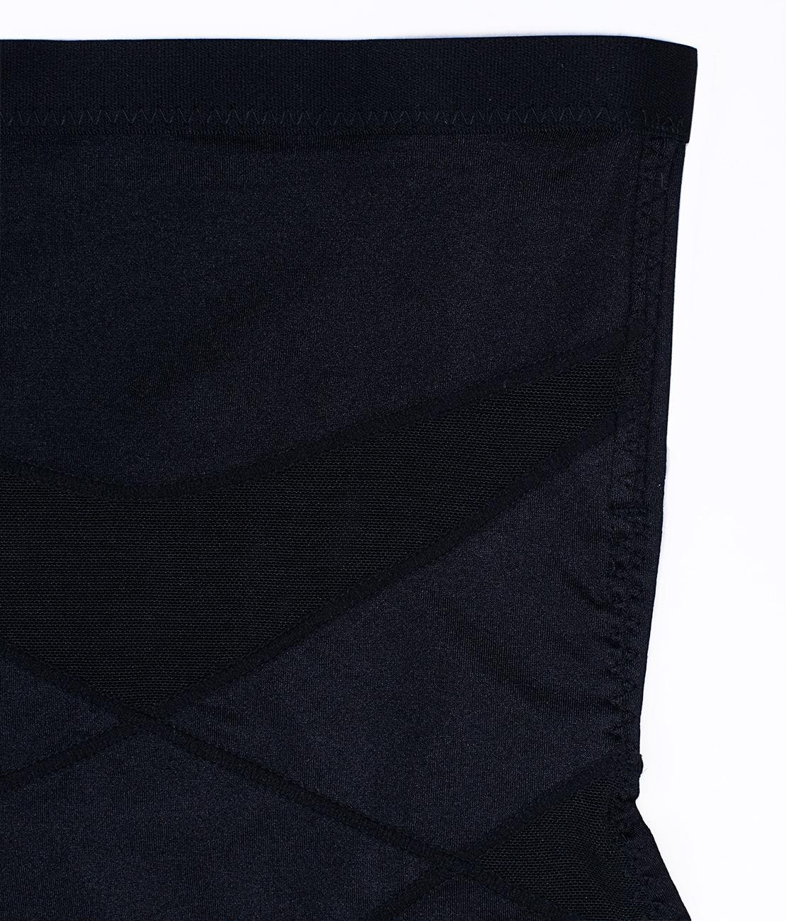 Culotte gainante soyeuse Noire Detail 1