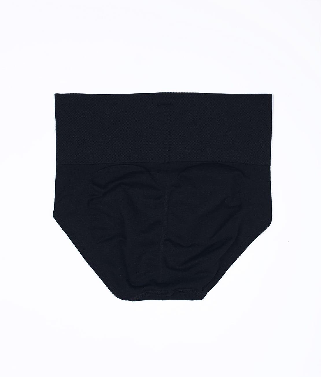 Culotte Taille Haute Noire Packshot Back