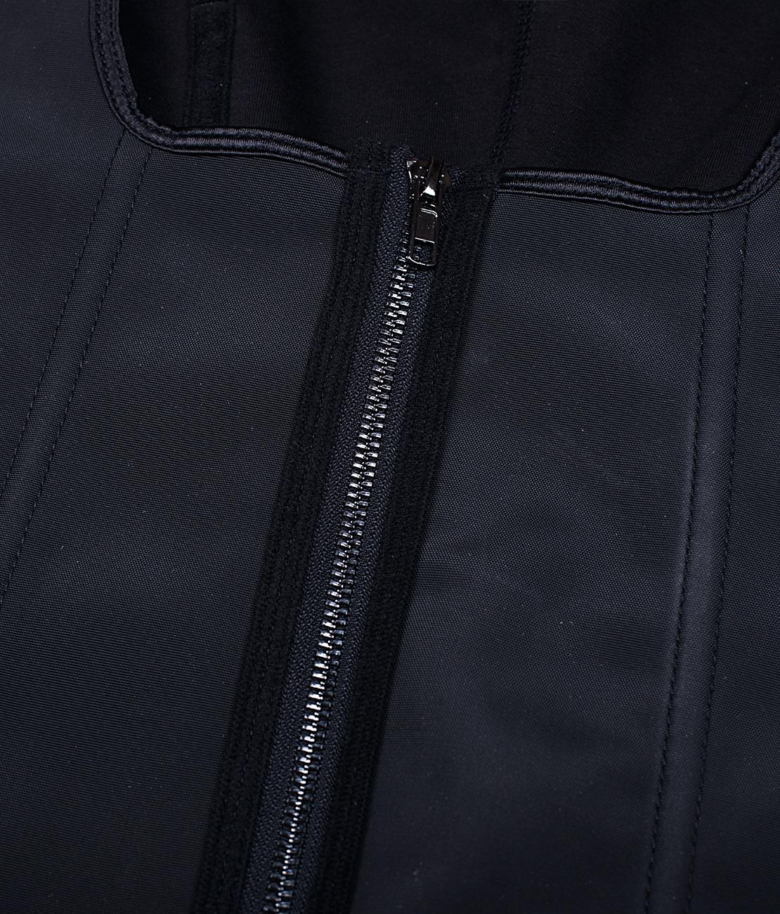 Corset Latex Remodelant Noir Packshot Detail 3