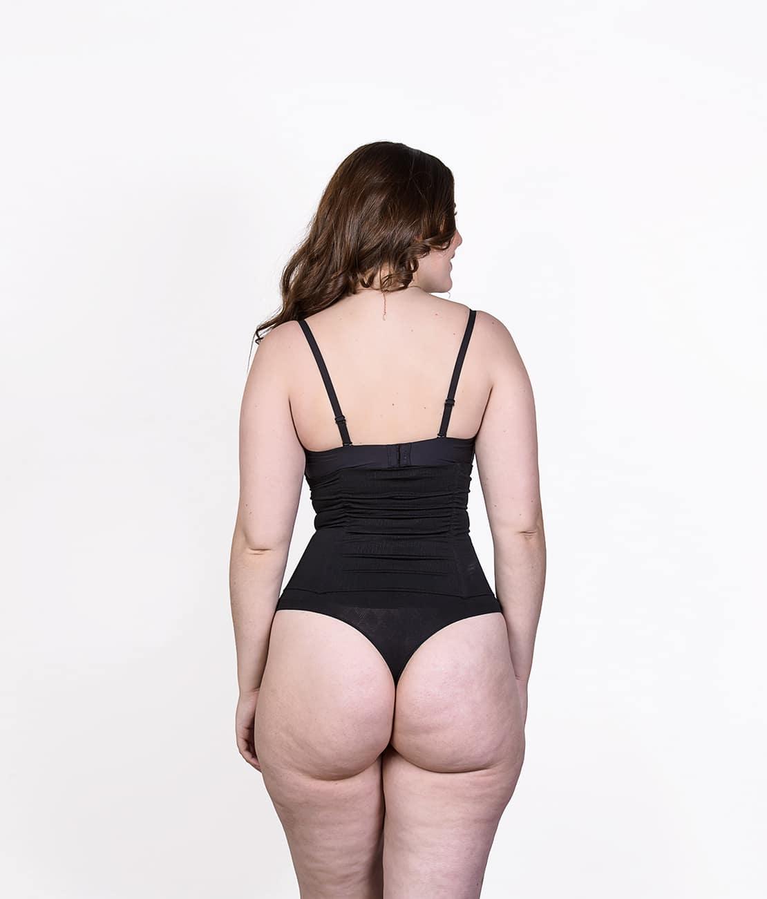 Body Shaper Noir Dos