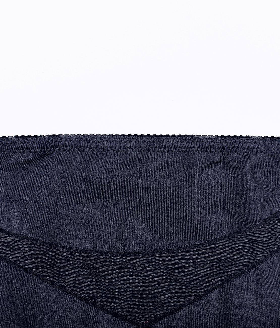 Gaine Ventre Plat Invisible Noire Packshot Detail 2
