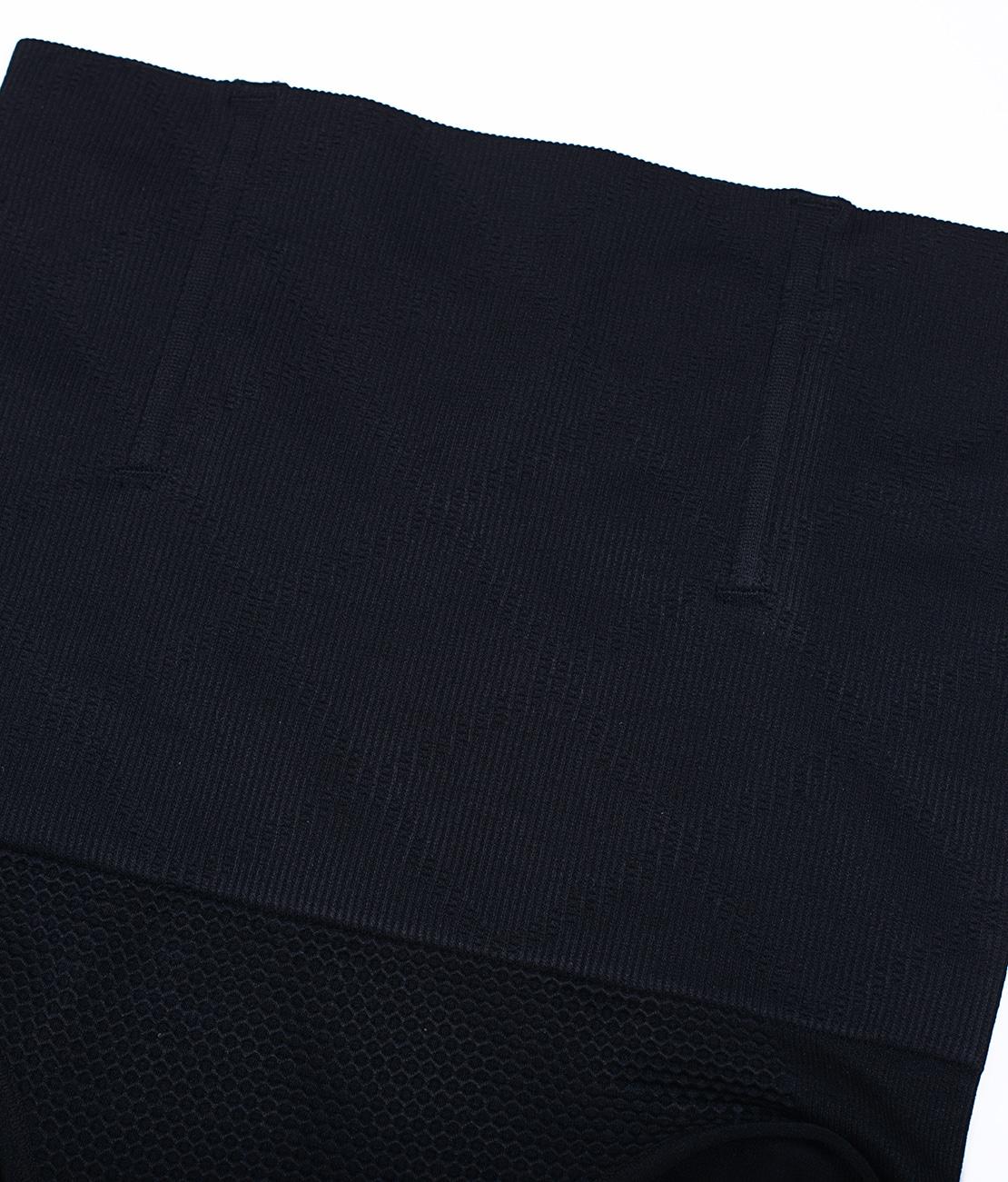 Culotte Ventre Plat et Top Sculptant Noire Packshot Culotte Detail 2