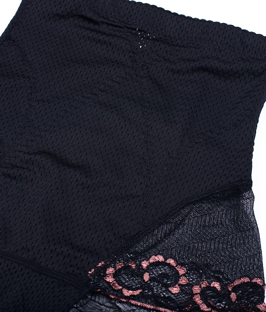 Shorty Gainant Dentelle Noir Packshot Detail 2